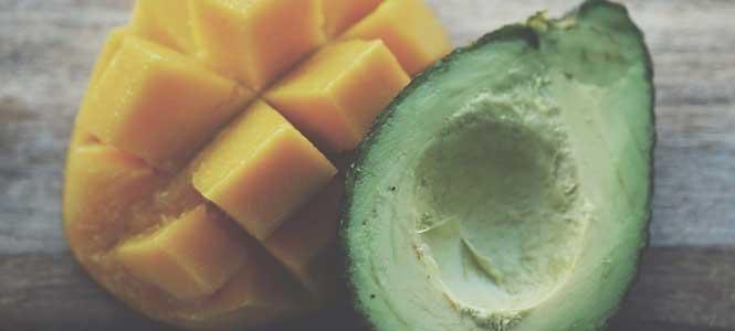 Mango-avokádové guacamole