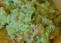 Náhled recept na guacamole s pomerančem