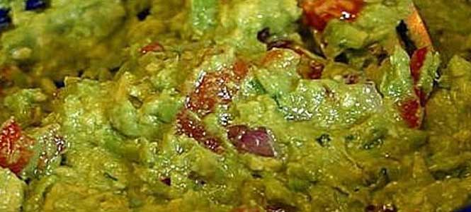 Recept na kalifornské guacamole
