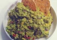 Náhled guacamole s černými fazolemi